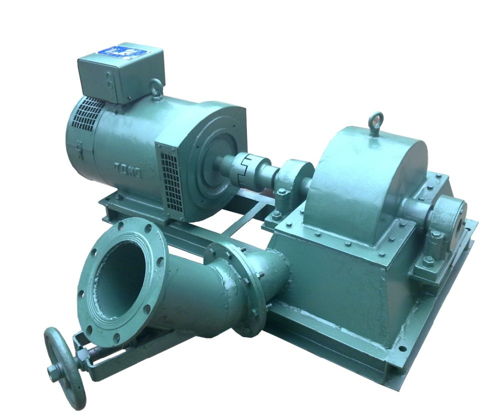 1-100kW turgo impulse turbine
