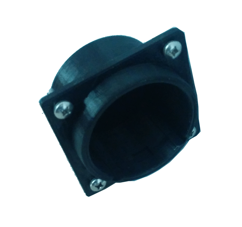CHAdeMO connector holder